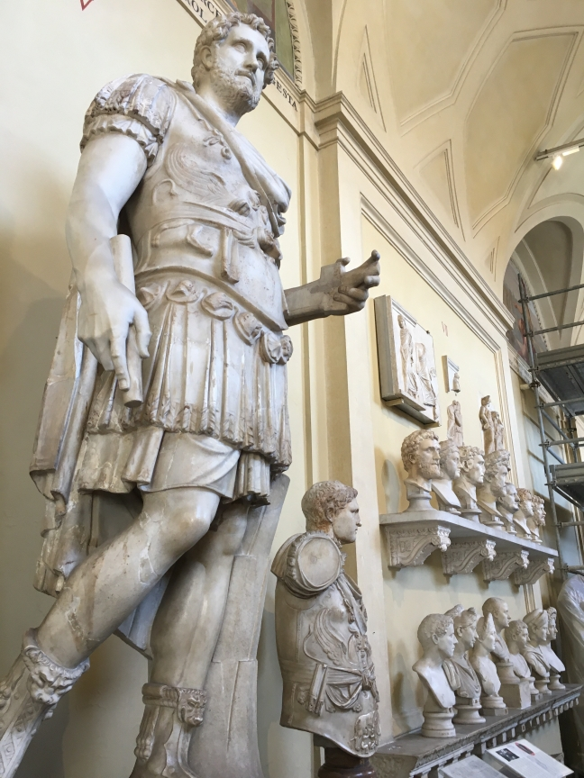 Statues in Vatican Museums