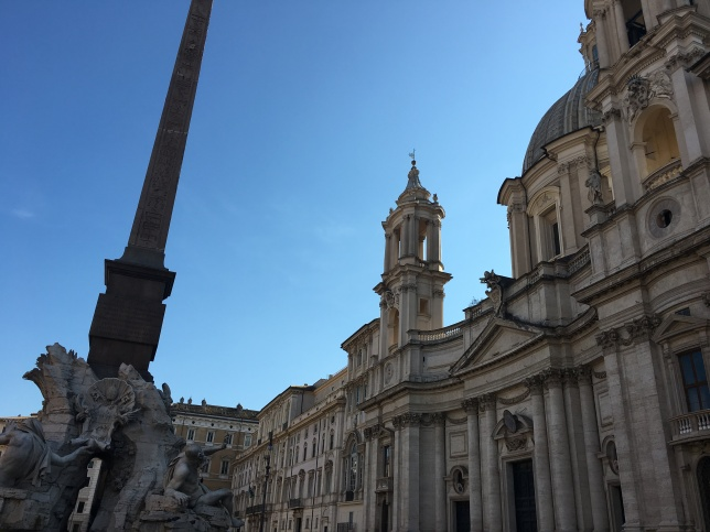 The Trevi Fountain, Pantheon, and Piazza Navona